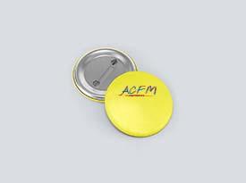 Réalisation badge ACFM
